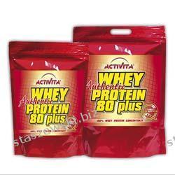 Activita Whey Protein 80 Plus Authentic - 2600 g Środki powiększające