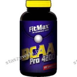 Fitmax BCAA Pro 4200 - 120 tabl Potencja i libido
