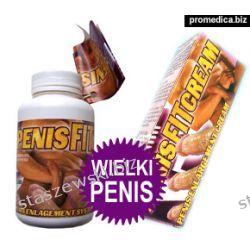 PenisBooster II PensFIT 60 kaps. + PenisFit krem 50 ml Środki powiększające