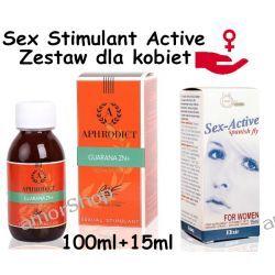 Sexual Stimulator - krople dla kobiet, gdy nic nie pomaga 100ml + 15ml Erotyka