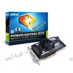 VGA MSI GTX650 OC PE 1GB GDDR5 128bit 2DVI+mHDMI PCIe 3.0
