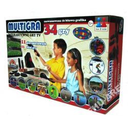 Gra Tv - Multigra - 34 Gry Interaktywne