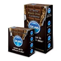 Prezerwatywy Skins Czekolada - 100% GRATIS