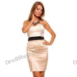 Elegancka gorsetowa sukienka rozm. L 40