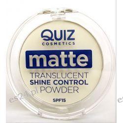 Transparentny puder matujący WHITE  Makijaż