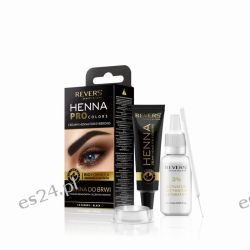 HENNA PRO COLORS REVERS Henna do brwi / Czarna