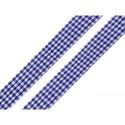 WSTĄŻKA - GRANAT W KRATKĘ - SZER. 18 mm - DŁ. 1 m Aplikacje