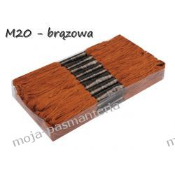 M20 - MULINA BRĄZOWA Wstążki