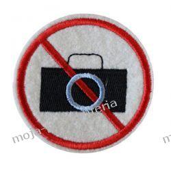 NAPRASOWANKA, APLIKACJA TERMO - ZAKAZ FOTOGRAFOWANIA-  Aplikacje