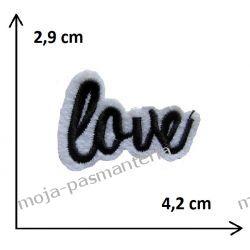 APLIKACJA NAPRASOWANKA TERMO -mini LOVE - 29x42mm