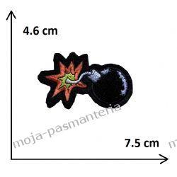 Naprasowanka - BOMBA - 46x75mm Aplikacje