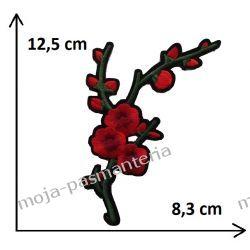 APLIKACJA NAPRASOWANKA -KWIATY - 12,5 x 8,3 cm Rękodzieło