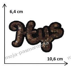 APLIKACJA NAPRASOWANKA TERMO - HYS - 6,4x10,6cm Wstążki