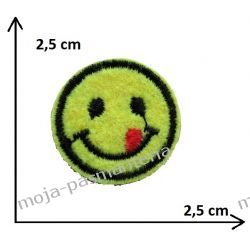 Naprasowanka - mała BUŹKA - 2,5 cm Aplikacje