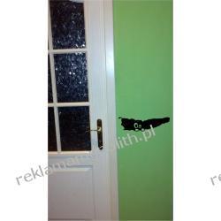 Naklejka na ścianę przy drzwiach
