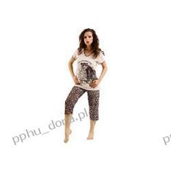 WADIMA PIżAMA   M L XL XXL kr rękaw+3/4 spodnie  40 42 44 46