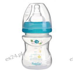 Butelka szerokootworowa antykolkowa 120ml 0+ BabyOno niebieska