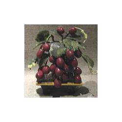 Drzewko winogronowe z jadeitu 1
