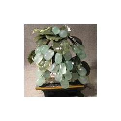 Drzewko winogronowe z jadeitu 2