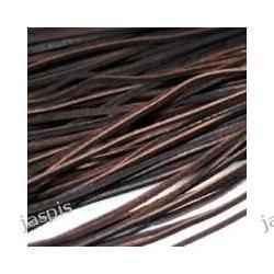 Rzemień brązowy ciemny - 2 szt