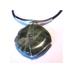 Nefryt - kamień w oplocie - hurt