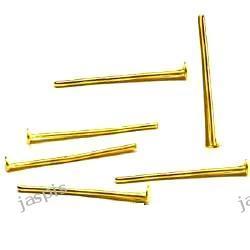 Gwoździe złocone - 40 mm