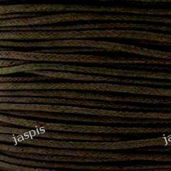 Sznurek bawełniany brązowy