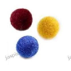 Kulki filcowe o średnicy 40 mm - różne kolory