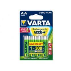 Akumulator AA/R6 2.6Ah 3.1Wh NiMH 1.2V Varta ready2Use B4