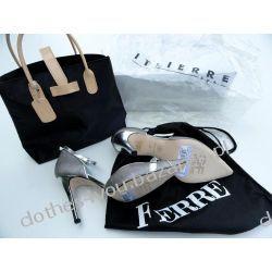 Włoskie Sandały GF FERRE + torebka