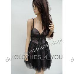 Gorsetowa sukienka Bebe Bryce XS