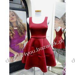 Rozkloszowana sukienka z pianki SALE%