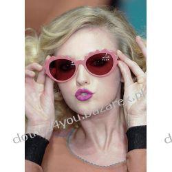 Okulary słoneczne Sonia Rykiel edycja limited pink