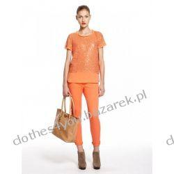 Skórzana karmelowa shopperka torebka DKNY new