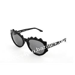 Okulary słoneczne Sonia Rykiel model Laced kolor czarny 2015 edycja limitowana