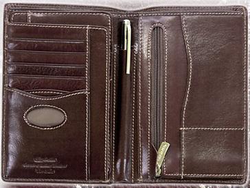 31855cf2ee42d Duży Portfel Canaletto-185 z długopisem+wyjmowane wkładka na karty ...