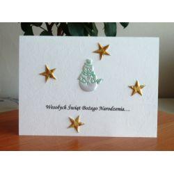 Kartki na Boże Narodzenie świąteczne z życzeniami