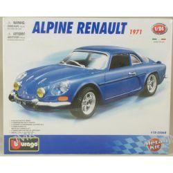 ALPINE RENAULT 1971 MODEL DO SKŁADANIA SKALA 1/24 Samochody i pojazdy