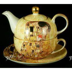 Tea for one - Gustav Klimt The Kiss Filiżanki