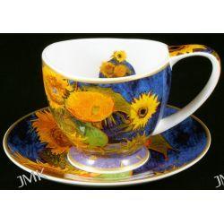 Filiżanka ze spodkiem Van Gogh - 6 Słoneczników Filiżanki