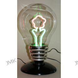 LAMPA W KSZTALCIE ZAROWKI Z NEONEM-KWIAT Oświetlenie
