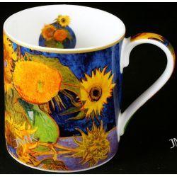 Kubek Van Gogh - 6 Słoneczników Filiżanki