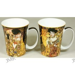Kpl. 2 kubków - G.Klimt - Pocałunek +Adela