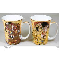 Kpl. 2 kubków - G.Klimt - Pocałunek + Spełnienie