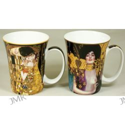 Kpl. 2 kubków - G.Klimt - Pocałunek + Judith
