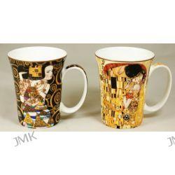 Kpl. 2 kubków - G.Klimt - Pocałunek + Oczekiwanie