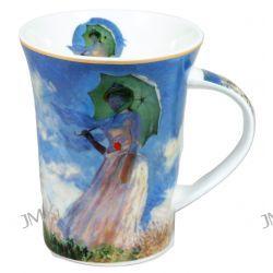 Kubek - Claude Monet  - Kobieta z Parasolem