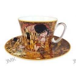 Filiżanka ze spodkiem G.Klimt Pocałunek