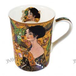 Kubek Classic New - G.Klimt - Lady with fan 350ml. Zastawa stołowa