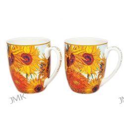 2 kubki prezentowe - Słoneczniki Van Gogha Dom i Ogród